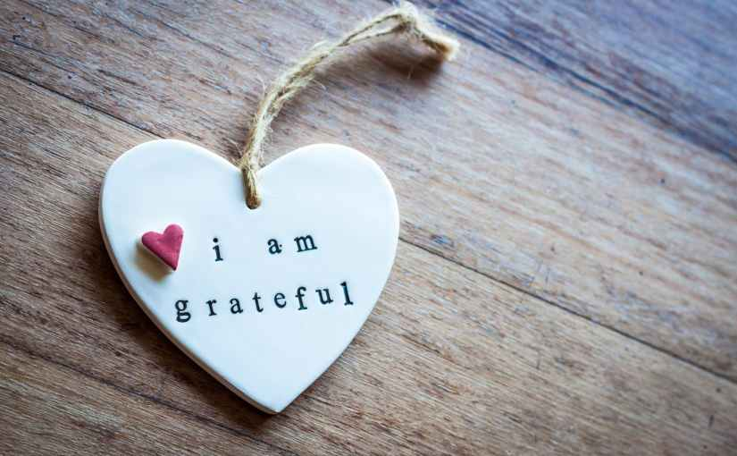 A Simple Exercise in Gratitude